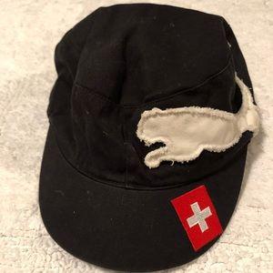 Vintage Puma 90s sportswear snapback cap Swisslogo